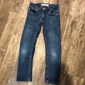 Boys Levi's size 8 slim jeans